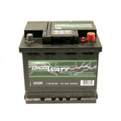 Аккумуляторная батарея  GIGAWATT 52А