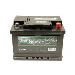Аккумуляторная батарея  GIGAWATT 53Ah