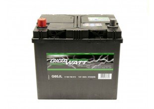Аккумуляторная батарея  GIGAWATT 60Ah