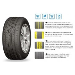 Шина 255/55R19 111H XL Snowfors UHP Cratos